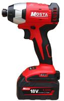 MOSTA LW18SEB 18V 4.0Ah household electric tool multi functional cordless impact driver double speed LI ION electric dril