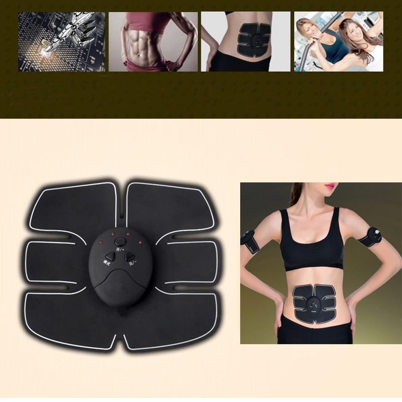 Smart EMS Electric Pulse Treatment Massager Abdominal Muscle Trainer Wireless Sports Muscle Stimulator Fitness Massage KXS