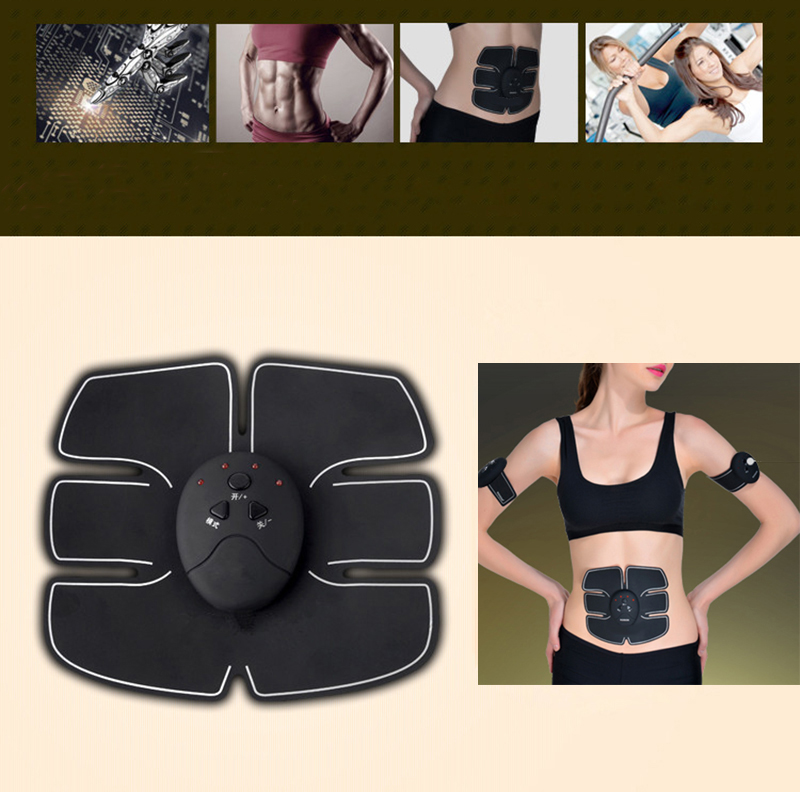 Smart EMS Electric Pulse Treatment Massager Abdominal Muscle Trainer Wireless Sports Muscle Stimulator Fitness Massage KXS-H12 3pcs set wireless intelligent abdominal muscle trainer lacy body massager fitness equipment for home use for women hot sale