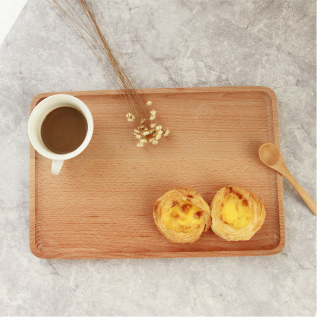 Hippo Home Creative Tableware Wooden Food Tray Dessert Fruit Sushi Dinner Plate Dish Storage Tray Coffee & Hippo Home Creative Tableware Wooden Food Tray Dessert Fruit Sushi ...