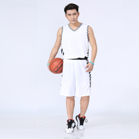 Quick Drying Men S Black Basketball Team Uniform Sportswear Kits Male Training Shirt Adult Sports Clothing