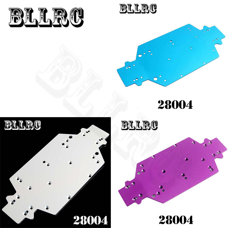 HSP 1:16 28004 Aluminum alloy floor panel suitable for RC car 1/16 HQ731 732 733 734 Off-road truck upgrade spare parts 82910 ricambi x hsp 1 16 282072 alum body post hold himoto 1 16 scale models upgrade parts rc remote control car accessories