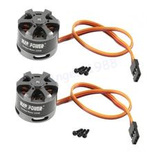 цена на 2pcs/lot Brushless Gimbal Motor 2208 80T For Gopro CNC Digital Camera Mount FPV  Wholesale Drop freeship