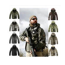 Outdoor Sport Softshell TAD Tactical Jacket Sets Men Camouflage Hunting Clothes Military Coats For Camping Hiking Hooded Jacket outdoor waterproof tad gear tactical soft shell camouflage set men women sport hunting clothes set military jacket pants