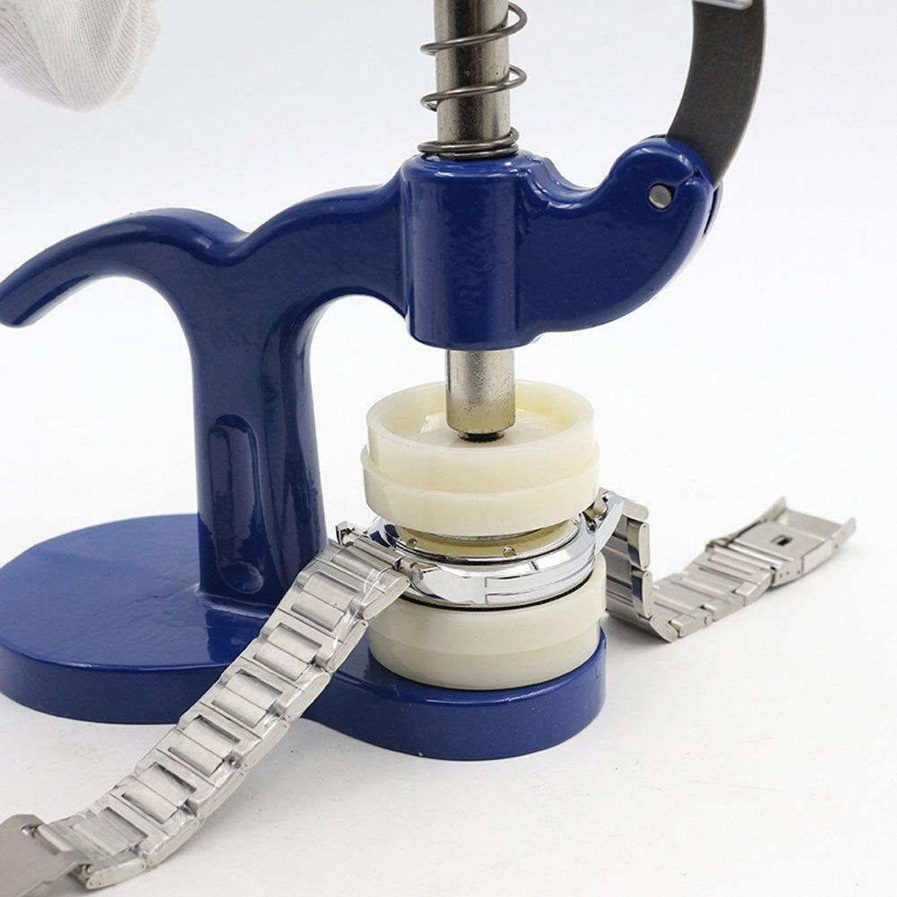 Watch Repair 18cm Length Watch Back Closer Watch Tool Set Press Set Press For Watch Repair Plastic Case Crystal Glass Hand-tools