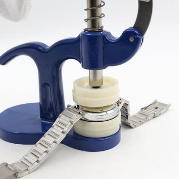 18 см длина часы назад ближе Часовщик-инструменты ремонт инструмент набор пресс-набор ремонт инструмент набор пластиковый корпус Кристалл С...