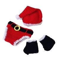 3 Ps/grup Bebek Erkek Kız Şapka ve Kapaklar için Güzel Hediye Bebek Örgü Pamuk Şapka Için Yenidoğan Bebek Noel Hediyesi bebek ürünleri