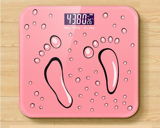Charging Electronic Scale Household Precision Weight Scale Small Body Weight Reducer free shipping in Bathroom Scales from Home Garden