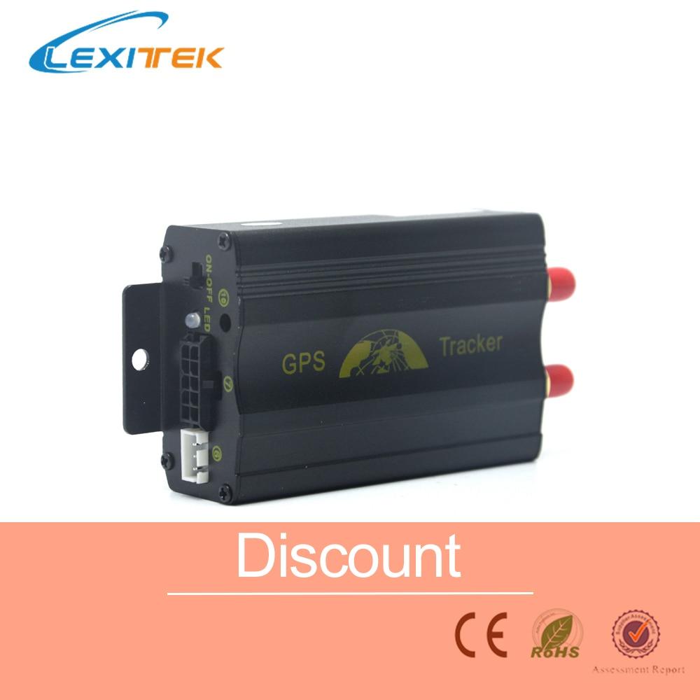 GPS Car Tracker TK103A Rastreador Gps Tracker Localizador Tiempo Real Para Auto