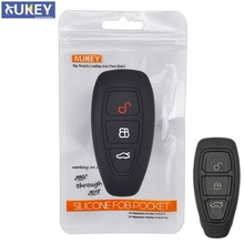 3 Button Silicone Car Remote Key Fob Shell Cover Case For Ford Focus RS Fiesta Mondeo Kuga B Max Grand C MAX S MAX Galaxy