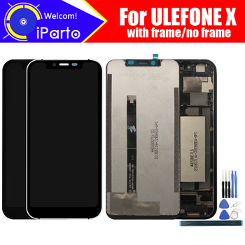 5.85 inch ULEFONE X  LCD Display+Touch Screen Digitizer Assembly 100% Original New LCD+Touch Digitizer for ULEFONE X +Tools