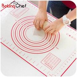 Bakingchef cozimento de silicone esteira pizza massa fabricante pastelaria cozinha gadgets ferramentas utensílios bakeware amassar acessórios lote