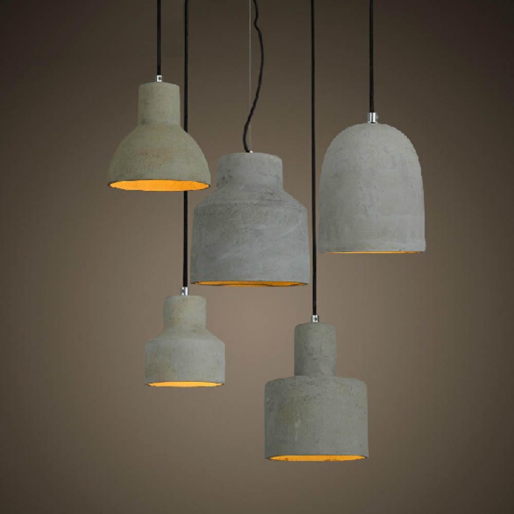 New Design Nordic Minimalist Retro Ceramic Pendant Light