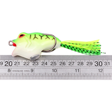 1PC PRO BEROS Brand Frog Lure With Hooks Soft Fishing Bait 6 Colors Fishing Lures 16.16g-0.57oz/9.5cm-3.75″ Fishing Baits