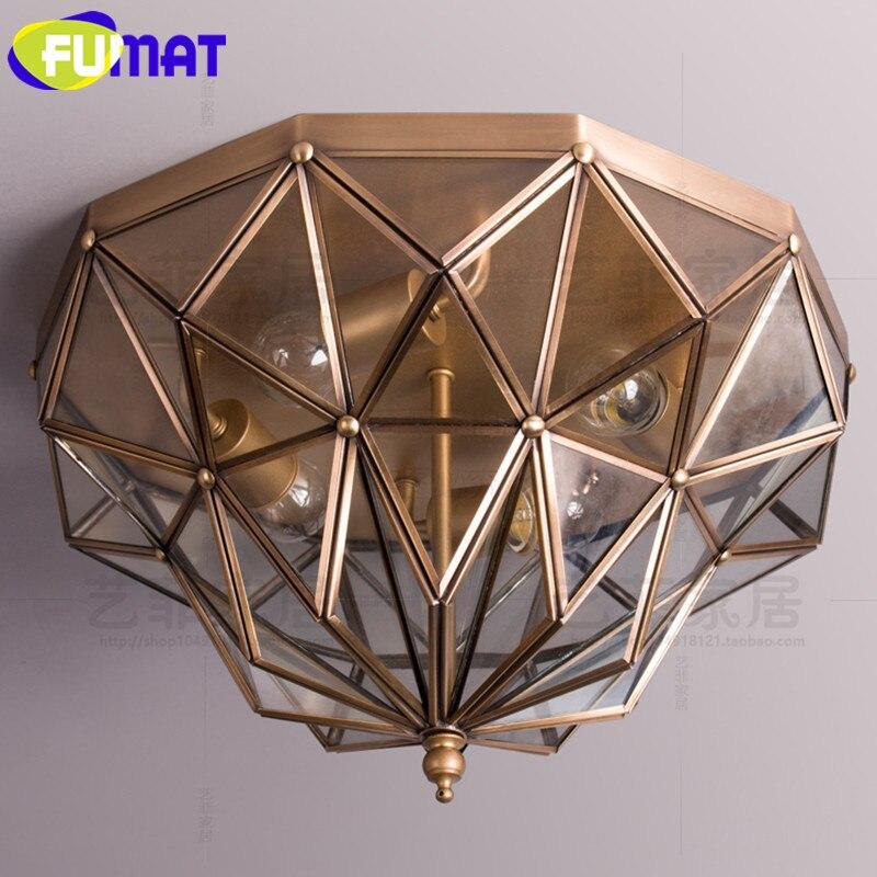Loft Industrial Round Retro Ceiling Lamps Simple Restaurant Corridor Metal Light Fixture Bedroom Kitchen Ceiling Lights