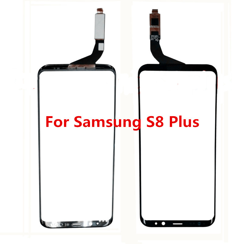 Atten for Samsung S8 Plus LCD Touch Screen Digitizer for Samsung Galaxy S8 Plus Front Glass Lens Panel with Sensor Replacement