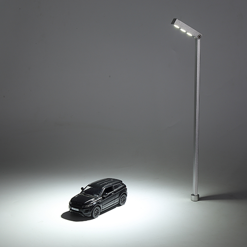 Ambientelampe Antik-Look Gartenleuchte Retro Standlampe Vintage H.100 cm