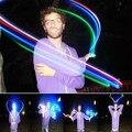 100 unids/lote LITE DEDOS NIÑAS JUGUETE DIVERTIDO luz del dedo del led 4 color de la luz de la lámpara del dedo del laser para el partido. cumpleaños, Chistmas