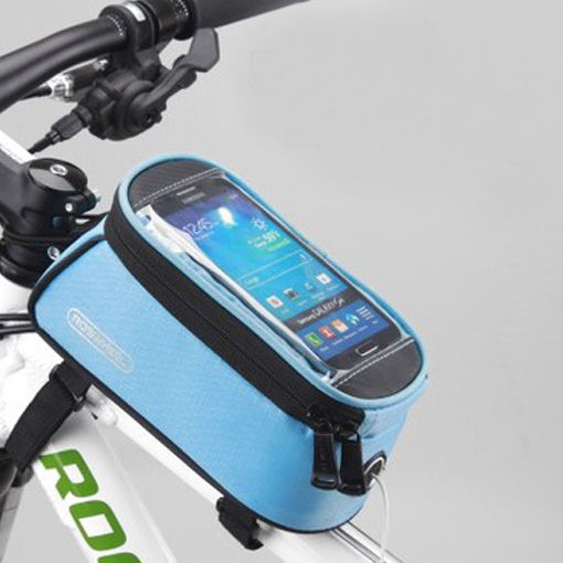 ROSWHEEL BICYCLE BAGS CYCLING BIKE FRAME IPHONE BAGS  HOLDER PANNIER MOBILE