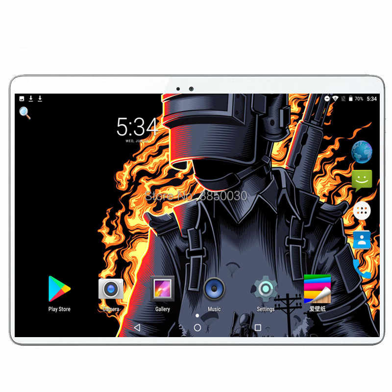 "LSKDZ tabletas Android 9,0 Deca Core 10 ""Tablet PC 6GB RAM 64GB ROM pulgadas 1920X1200 8MP 6000mAh WIFI GPS 4G LTE DHL envío gratis"