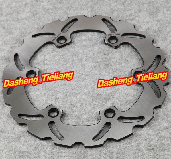 Stainless Steel New Rear Brake Disc Rotor For Honda XLV VARADERO 1000 & CB(CB1300) & CBR 1100XX, Motorcycle Spare Parts for honda nc700 nc750 ctx700 nm4 vultus motorcycle accessories rear wheel brake disc rotor od 240mm stainless steel