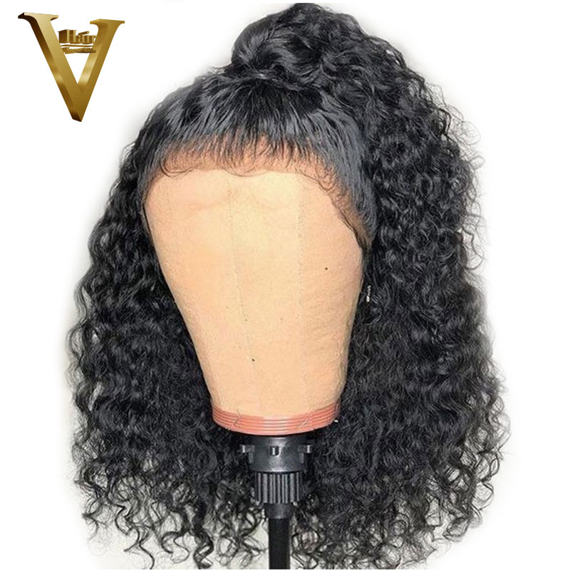 150 Density 13x6 Short Bob Lace Frontal Wig Pre Plucked Hairline Brazilian Remy Curly Lace Front Human Hair Wigs For Women-in Human Hair Lace Wigs from Hair Extensions & Wigs    1