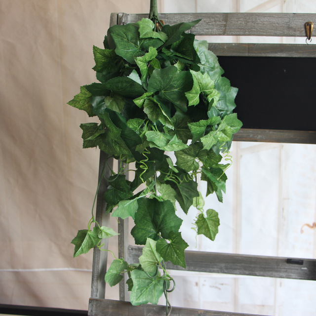 70cm Silk Artificial Plants Green Ivy Vine Real Touch Decorative