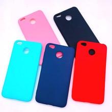 XINDIMAN phone case for xiaomi redmi 5plus soft TPU silicone covers redmi5plus note6pro note7 note4X