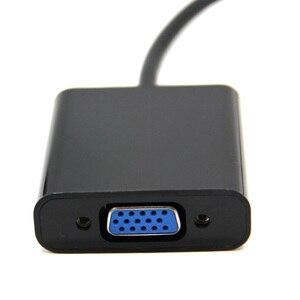 Image 5 - Hot Koop Man Display Port DP naar VGA Female Adapter Kabel Converter Voor Projector DTV TV HDVD Speler 1080 P