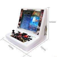 Pandora 6S Retro 19 Inch LCD Screen Arcade Machine 1399 Games 2P Controller with Coin Acceptor PCB Board 4:3 LCD Arcade Console