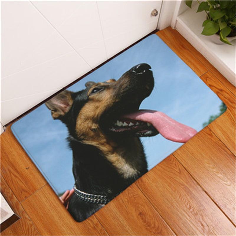 2017 Novi slatki pas Ispisni tepisi za kupaonice Prostirke protiv - Tekstil za kućanstvo