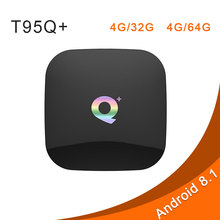 Q PLUS TV BOX 4G32G 4G64G H6 Quadcore Android 8.1 WIFI 2.4G Support Decoder format Smart media player PK T95Q T9