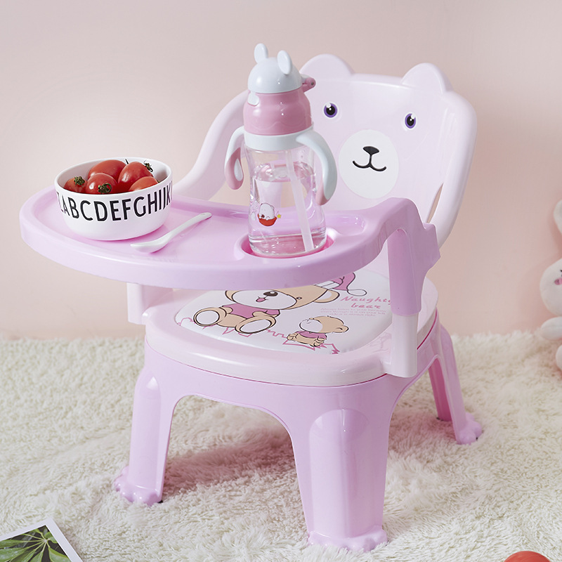 Baby's Chair Kindergarten Chair Baby's Stool Dining Chair Kids Furniture Lovely With Backrest Portable