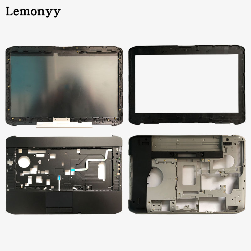NEW Shell For Dell Latitude E5420 LCD Top Cover/LCD Front Bezel/Palmrest Upper Touchpad/bottom Case Cover 032YF6