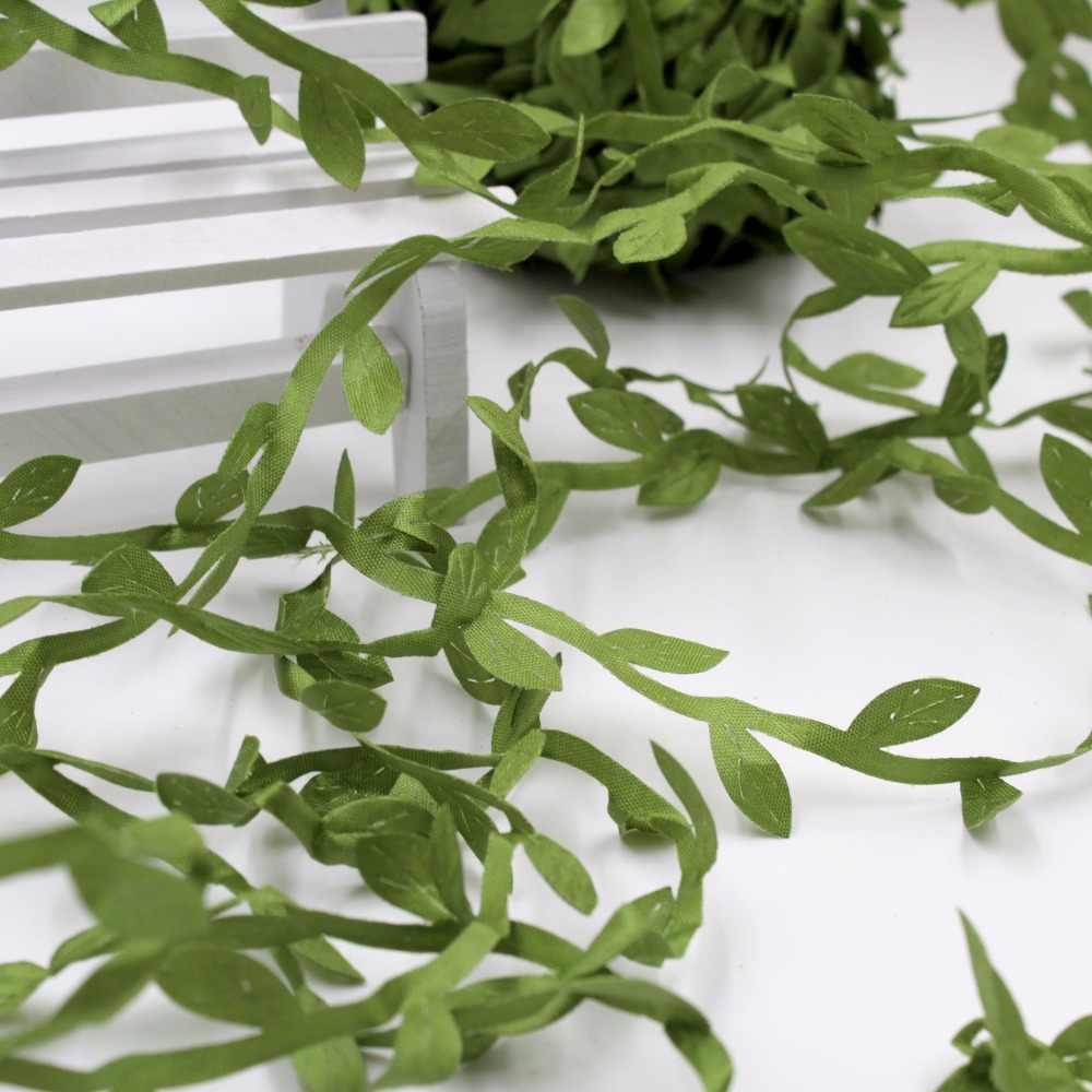 20 M Home Decor sztuczne girlanda roślinna sztuczne pnącze kwiaty Creeper zielony bluszcz wieniec ślubny akcesoria