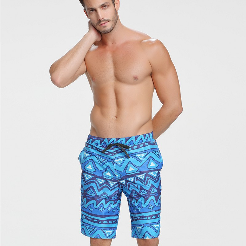 2018 New Swimwear Beach Shorts Swim Shorts Mens Blue Boardshorts Swimwear Trunks Bathing Shorts For Men Male Sea Short Pants