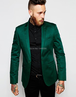 New Arrival 2017 Mens Suits Italian Design Green Stain Jacket Groom Tuxedos For Men ,Wedding Suits For Men Costume Mariage Homme