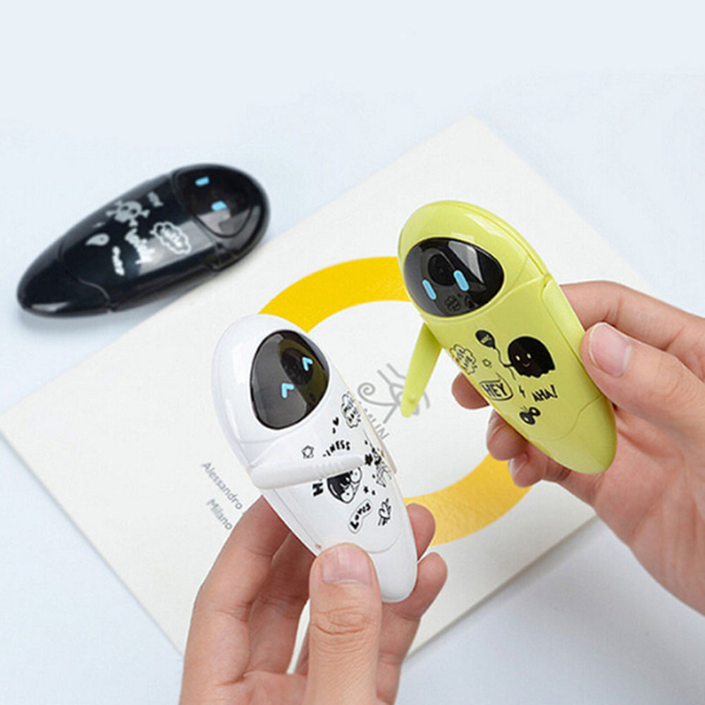 1 Pc Cute Robots Kawaii Correction Tape Cartoon 5mmx8M Correction Tape For Kids Gift School Supplies Korean Stationery