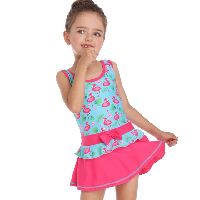 10 year Children One Piece Swimsuit Girls Sports Swimwear kids Beach Patchwork Swimsuit Bodysuits Baby Bathing Suit for girls 14