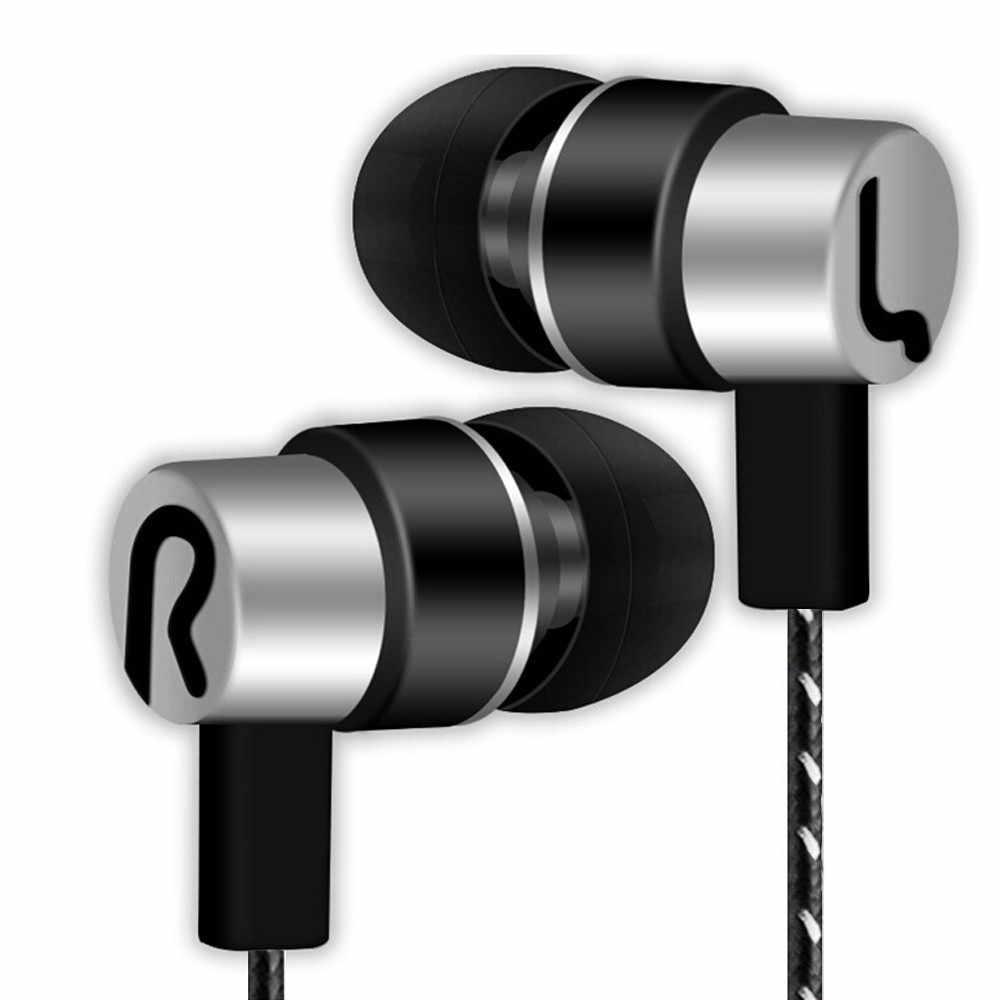 Universal 3.5 Mm Stereo In-Ear Earbud Earphone untuk Ponsel untuk Ponsel Neckband Sport Earphone Auriculare CSR untuk Semua Ponsel