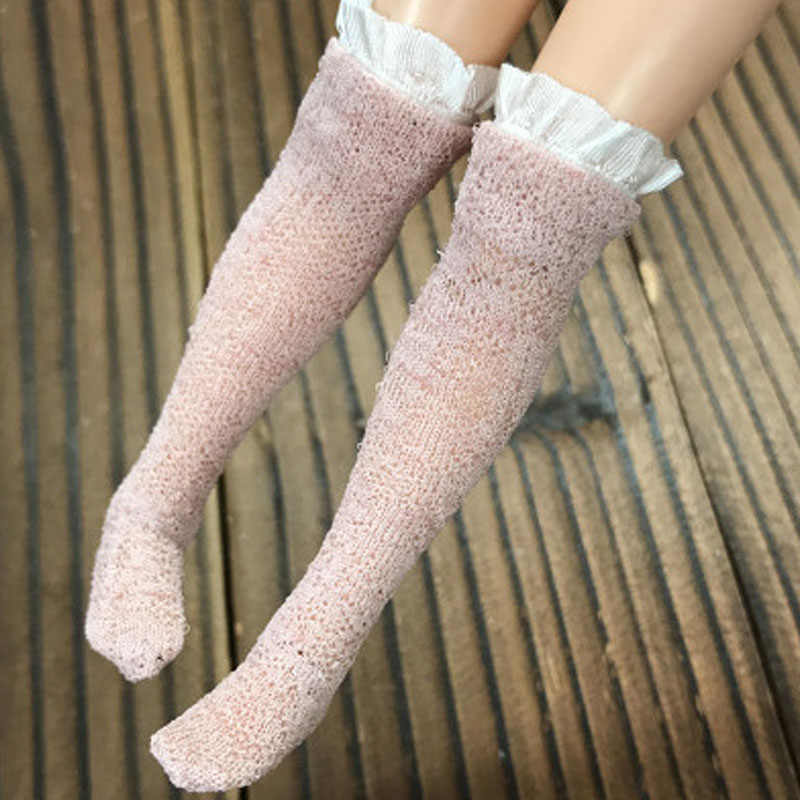 63e50c1d1a0 ... 1pair Lace Stockings for Blythe 1 6 Doll Socks For Barbie Thigh High  Over the ...