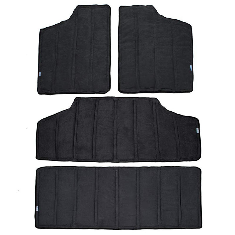For Jeep Wrangler Jk Headliner Hardtop Insulation 4 Door 2012-2016 Rear Window And Ceiling Roof Heat Insulation Cotton Kit Car