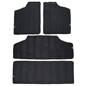 For Jeep Wrangler Jk Headliner Hardtop Insulation 4 Door 2012-2016 Rear Window And Ceiling Roof Heat Insulation Cotton Kit Car