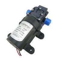 60 w 5l/min 72.5psi diafragma de alta pressão mini 12v 24 volts dc bomba de água auto priming