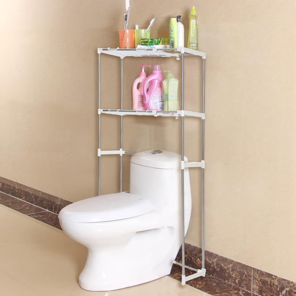 iKayaa US UK FR Stock Kitchen Organizer Space Saver Over Toilet ...