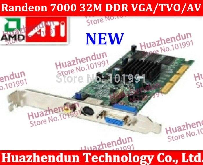 Brand New Sapphire ATI Randeon 7000 64M DDR VGA TVO AV AGP