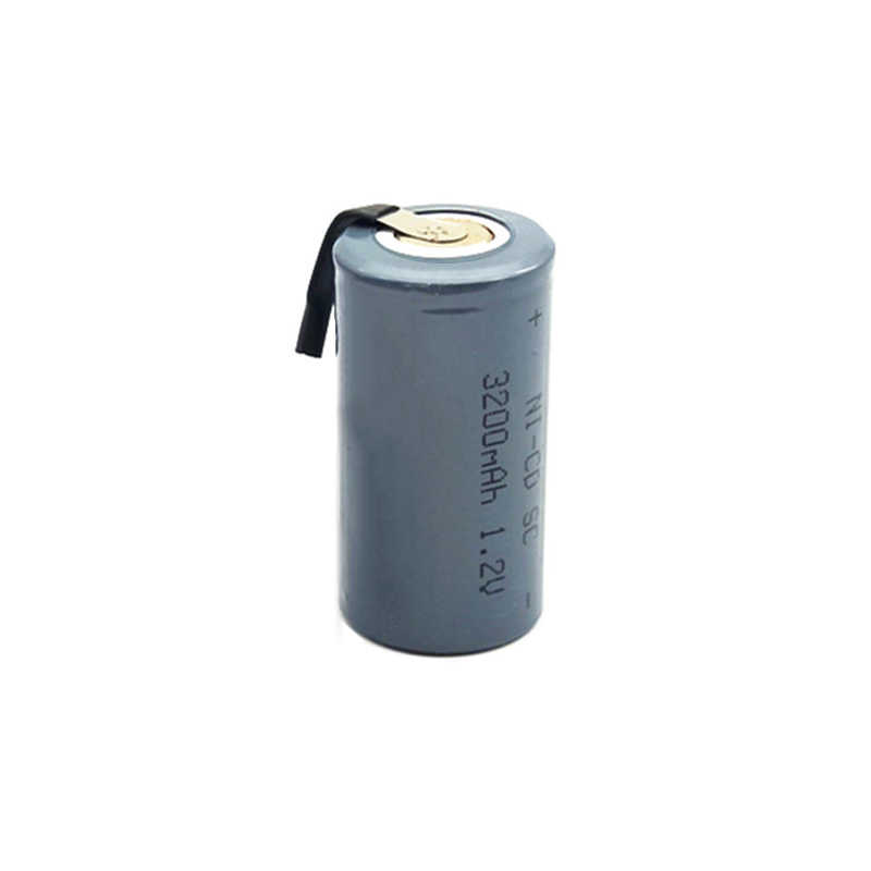 10/12/15/25pcs 3200mah SC1.2V high quality Ni-CD Battery Sub C SC 22420 with an Extension Cord Processed into Tools Battery Pack