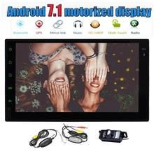 "Android 7.1 Headunit Car Stereo GPS 7"" Car Radio Bluetooth WIFI Mirror Link SWC Octa Core 2GB 32GB AM/FM/RDS+Wireless Camera"