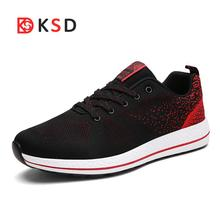Brand 2018 Summer Women Sneakers Breathable Mesh Womens Running Shoes Lightweight Sport Shoes Man Jogging Walking Athletic Shoe