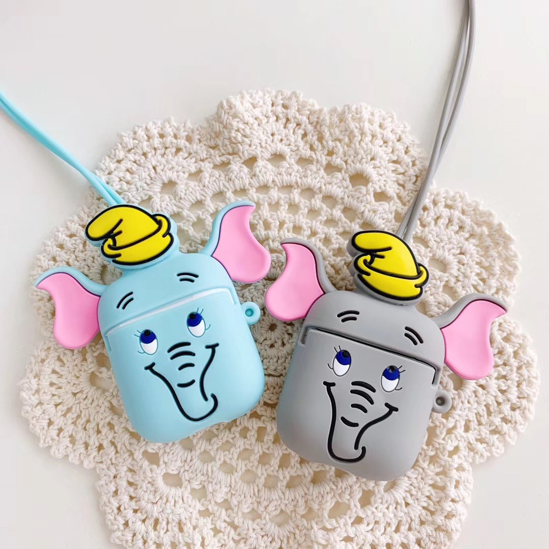 i30 <font><b>tws</b></font> i12 <font><b>tws</b></font> Cute Cartoon case For AirPods Case For <font><b>air</b></font> <font><b>pods</b></font> 2 i30 i12 i10 i11 i7s <font><b>i9s</b></font> i60 Bluetooth Earphone silicon cover image